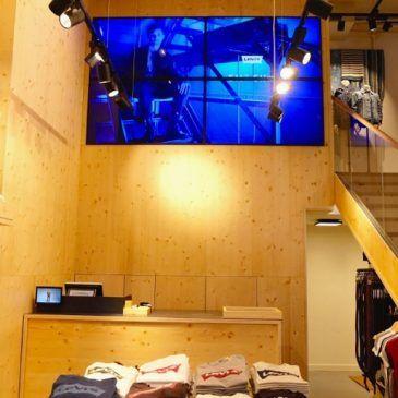Nueva tienda Levi's en Barcelona con FrontRetail